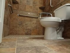 Part (1) How to build and tile curbless ( handycap ) walk -in shower. - YouTube