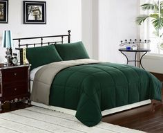 hunter green decor | ... hunter green bedroom design