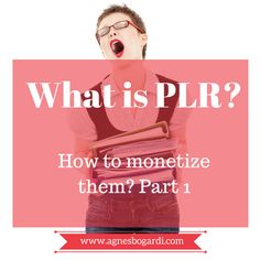 What is PLR? PLR means Private Label Rights, this means you can use the content and share as your own. Brilliant isn't it? Sure there are pros and cons, but sometimes you just need one to kick your business.  Sometimes you just need a kickstart! #PLR for #SmallBusinesses #OnlineMarketing #Tips
