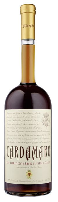 Cardamaro (Giovanni Bosca S.P.A. Canelli, Italia) - The oldest amaro tradition is that of flavored wine. This 7th generation recipe flavors a Piemontese wine with artichoke thistle (Cynara cardunculus) and St.Benedict's thistle (Cnicus benedictus), and other botanicals to create a bittersweet, lightly alcoholic amaro, rested in new oak for at least 6 months. | via boozenik.com | #Wine #Amaro #Bitters #Liquor #Drinks |