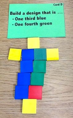 Practical Differentiation With Fractions Mosaics