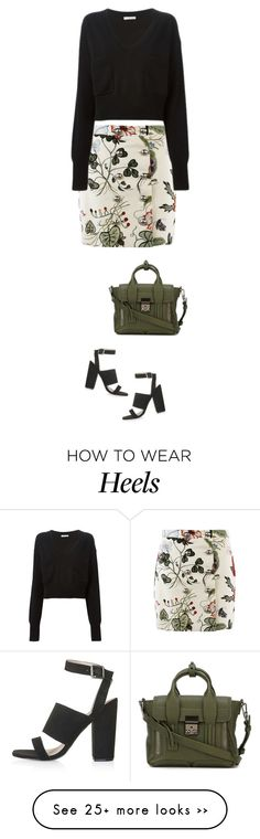 """""""street style"""" by ecem1 on Polyvore featuring Gucci, Topshop, 3.1 Phillip Lim and Chloé"""