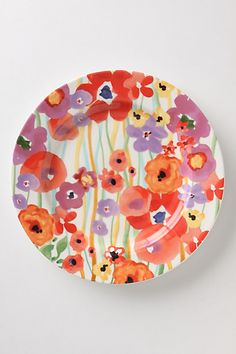 """Verdant Acres Dinnerware"" from #anthropologie  ~ Not exactly the same look as the salad plates.. but still really pretty!! :)"