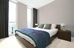 Interior - Bedroom - Colour selection done with Haymes Paint Virtual Designer - Walls: White Chocolate, Trim & Ceiling: Egret