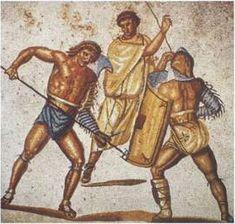 Retiarius stabs secutor (color) - Retiarius - Wikipedia, the free encyclopedia