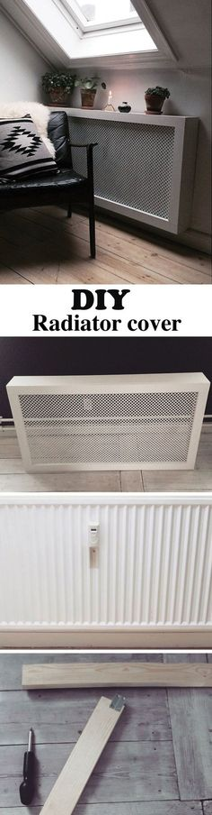 This DIY radiator cover is easy and cheap to make. It's the perfect cover fo – DIY Projects This DIY radiator cover is easy and cheap to make. It's the perfect cover fo This DIY radiator cover is easy and cheap to make. It's the perfect cover fo… Diy Home Decor Rustic, Unique Home Decor, Cheap Home Decor, Boho Decor, Diy Radiator Cover, Radiator Shelf, Radiator Ideas, Air Conditioner Cover, Appartement Design