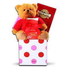 godiva valentine's day bear