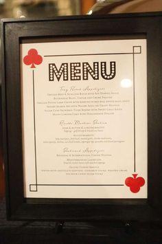Carte Nuit Plastique Table de banquet Cover Casino Vegas Party Décoration