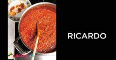 sauce a spaghetti - ricardo