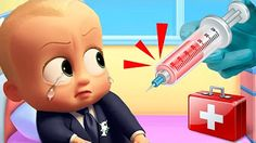 Baby Boss | Fun Doctor, Bathtime, Feed, Dress Up & Set To Sleep - Baby Care Games for Kids - YouTube
