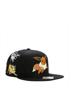 Pokemon Eevee Evolution Characters Snapback Hat 7e5000b8c668