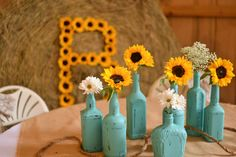 #rusticchicwedding #barnwedding #countrygirl #daisies #sunflowers #boots  Mobile, AL. We create original wedding designs based on YOUR needs, style and budget! All production, set up, coordination and clean up included! Have a stress free wedding on a realistic budget! Custom linens, flowers, décor, centerpieces, signs, lighting and much, much more! # 251-510-5606, pieceofcakeeventplanning@yahoo.com, https://www.facebook.com/pieceofcakeeventplanning
