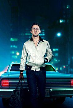 Ryan Gosling in the film, Drive. Ryan Gosling Drive, Image Cinema, Cinema Film, Drive 2011, 2011 Movies, New Retro Wave, Hommes Sexy, Movie Wallpapers, Film Stills