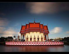 Wat Plai Leam, Koh Samui, Thailand | By orvaratli #thailand