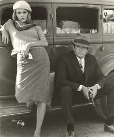 Bonnie and Clyde - Faye Dunaway and Warren Beatty