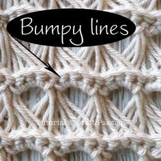 Lovely Broomstick Lace Scarf. Beginner level, must know how to crochet chain, single crochet, slip stitch to make this.
