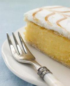Hungarian Vanilla Custard Squares - Magyar Krémes. Yum!