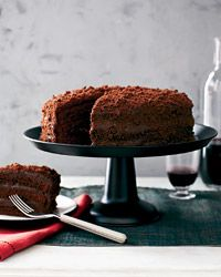 Chocolate Blackout Cake | Gale Gand's take on the classic Ebinger's bakery cake from @Food & Wine