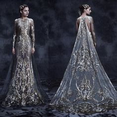 michael cinco the impalpable dream of versailles Beautiful Gowns, Beautiful Outfits, Pretty Outfits, Pretty Dresses, Fantasy Gowns, Dream Dress, Costume Design, The Dress, Gown Dress