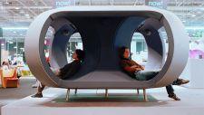 Patrick Jouin ID, Audiolab 1, Sound installation listening device 2011 Caisse des dépôt et consignations pour le Musée d'art moderne et contemporain Grand-Duc-Jean du Luxembourg