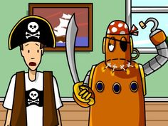 Check out Brain Pop's Featured Video Pirates! AARG!
