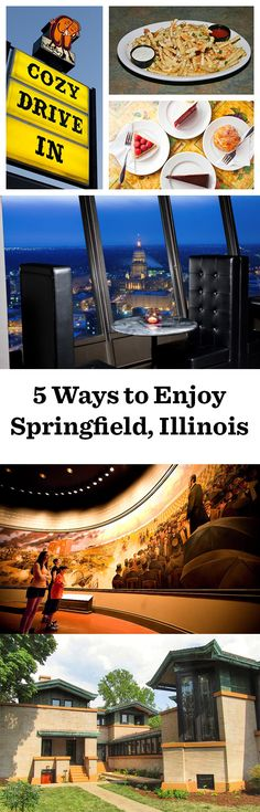 Eat a horseshoe sandwich, tour Lincoln country, see a Frank Lloyd Wright home...some of our favorite ways to enjoy Springfield, Illinois: http://www.midwestliving.com/blog/travel/5-favorites-springfield-illinois/
