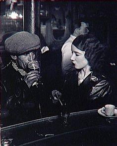 Paris Cafe Bistrot -- George Brassai