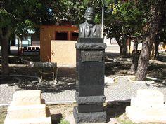 "Busto de (""José Garibaldi"") Giuseppe Garibaldi. # São José do Norte, Rio Grande do Sul. Brasil."