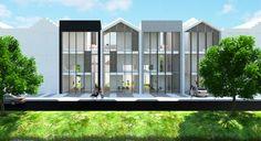Het Luik, passief rijtjeshuis  Onze visie is gericht op het realiseren van duurzame, betaalbare, w