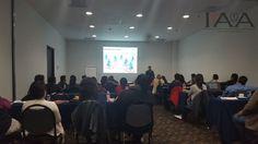 Sesionando en Ciudad de México curso de Organización de Eventos Sociales