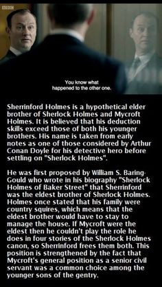 Poor Sherrinford.