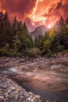 Sunset in Haute Savoie, Samoëns, France - by Lucien G. Nature Gif, Nature Images, Nature Pictures, Nature Videos, Landscape Photos, Landscape Photography, Beautiful World, Beautiful Places, Beautiful Shoes