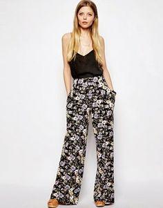 GLAMCURLS : Pantaloni a fiori: come sceglierli