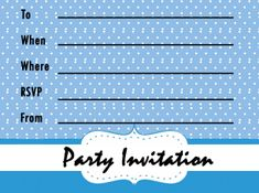 Free Printable Fall Invitations Free Printable Party Invitations, Party Printables, Free Printables, Party Fashion, Rsvp, Fall, Prints, Scrapbooking, Big