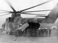 Afghanistan 1983-85 Mi-26 has delivered BTR-60PB. Hawn, 1984.