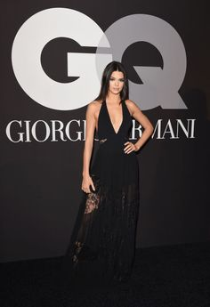 At the GQ and Giorgio Armani Grammy's After Party.