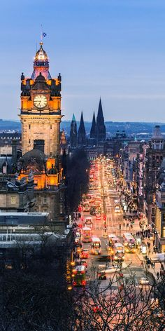 Edinburgh, Scotland || 25 most romantic cities in the world