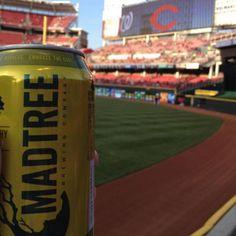 The Best Canned Beers of 2013 | Best Ballpark Beer (in Cincinnati): Mad Tree PsycHOPathy