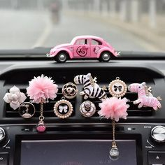 Crystalize Your Ride-Rhinestone Car Air Vent Bling Decorations - Cars Accessories - Ideas of Cars Accessories - Cute car accessories for girls Pink Car Interior, Car Interior Decor, Boat Interior, Interior Ideas, Jeep Wranglers, Chevy, Design Autos, Lilly Pulitzer, Trash Can For Car