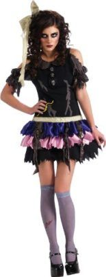 Rubies Costume Zombie Doll Dress Headpiece and Thigh-Highs Tag a friend who can pull this off! #Zombie #Halloween #Costume