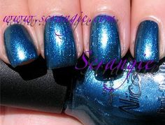 Nicole By OPI Party In The Penthouse (Shimmery Blue)