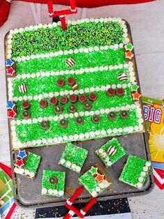 Football Field Cookie Cake