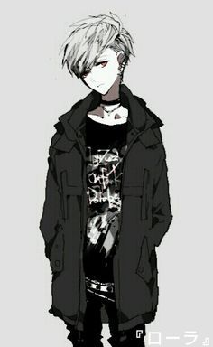 ADOPTED Razr is 15. He hates listening to others, and he's very rebellious. He often is off in his own world, listening to music.