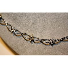 Tiffany & Co. Sterling Silver Barbed Wire Necklace