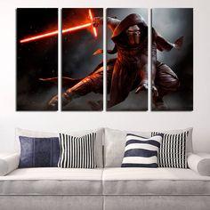 #KyloRen #StarWars #Canvas #Print #Décor #Wall #Art #Kids #Room #bedroom #panel #canvas #large #print  #homedecor