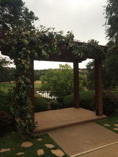 Gorgeous Ceremony Arch