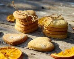 Sablés aux écorces d'oranges confites
