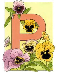 inkspired musings: The Language of Flowers - Pansy