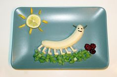 Bananen-Raupe