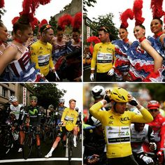 Mark Cavendish's day in yellow! A day for the record books & a day to remember! #TdF #TdF2016 #tourdefrance #letour #letourdefrance #markcavendish #dimensiondata #mtnqhubekacycling #maillotjaune #yellowjersey #worldtour